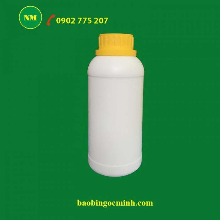 Chai nhựa hdpe 500ml đựng phân bón 12