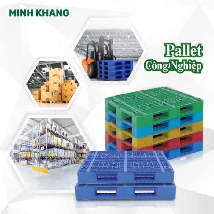 Pallet nhựa chính phẩm giá sỉ siêu bền3