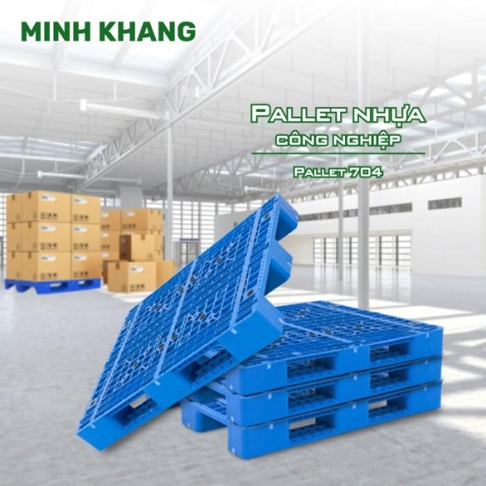 Pallet nhựa chính phẩm giá sỉ siêu bền2