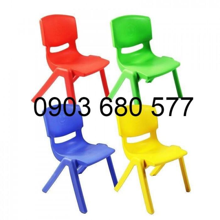 Cần bán ghế nhựa đúc trẻ em cho trường mầm non, lớp mẫu giáo, gia đình5