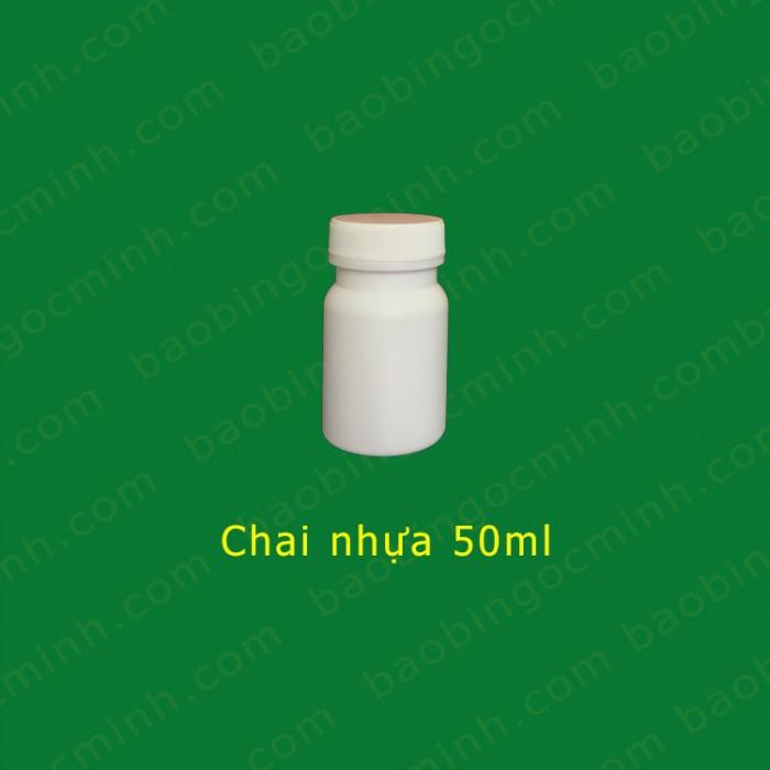 chai nhựa 50ml đựng nông dược10