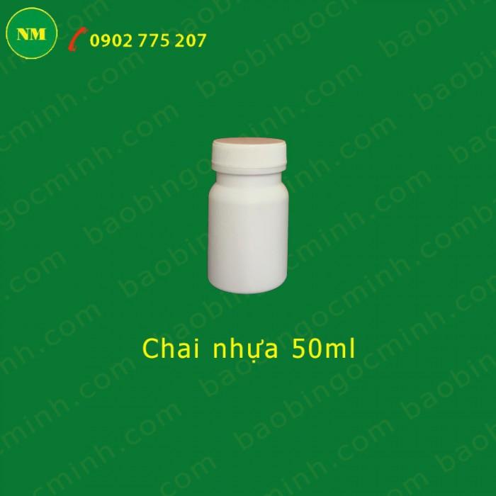 Chai nhựa 50ml đựng hóa chất 11