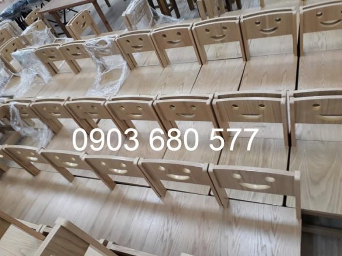 Cần bán bàn ghế gỗ trẻ em cho trường mầm non, lớp mẫu giáo, gia đình12