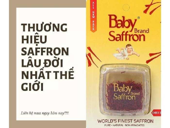 Set quà tặng Baby Saffron + 1túi táo HQ2