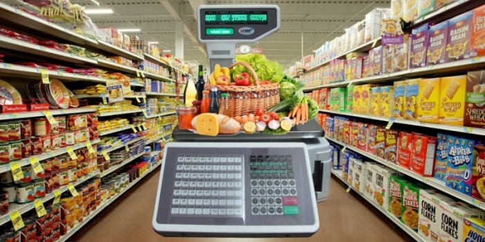Phân phối, lắp đặt cân điện tử siêu thị, in tem, mã vạch, kết nối wifi