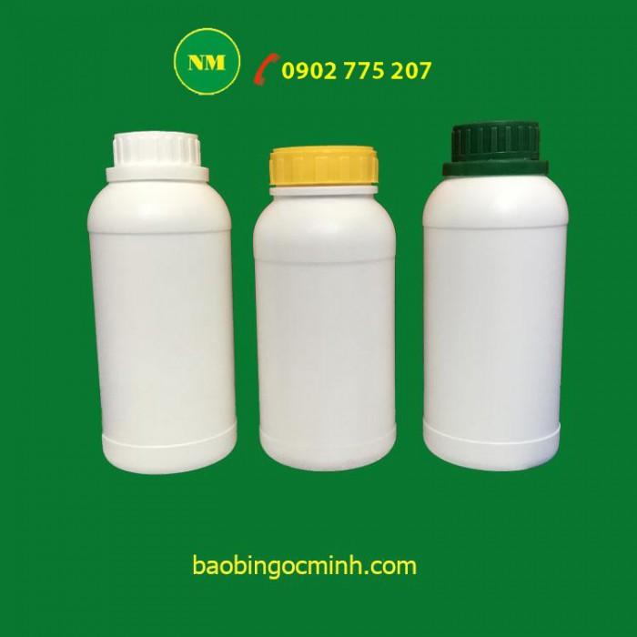 chai nhựa 500ml đựng phân bón 2