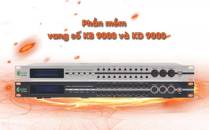 Vang số KB-9000 chỉnh số và chỉnh cơ đều được dễ dàng cho Quý Khách sử dụng.2