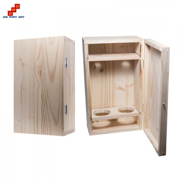 Địa chỉ gia công hộp gỗ, hộp rượu theo yêu cầu giá rẻ tại tphcm11