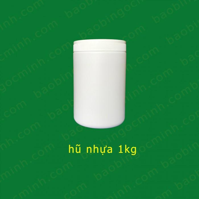 Hũ nhựa 1kg đựng tinh bột nghệ 4