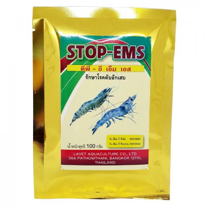 Đặc Trị Gan cho Tôm - STOP-EMS - Thủy Sản Tép Bạc0