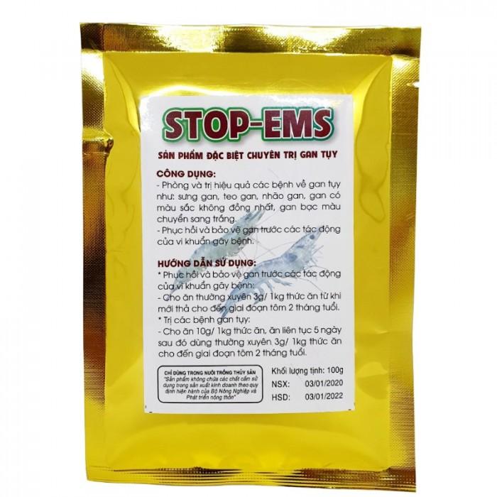 Đặc Trị Gan cho Tôm - STOP-EMS - Thủy Sản Tép Bạc1