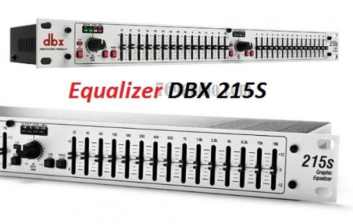 Equalizer DBX 215S Sản phẩm là hàng mới 100% - bảo hành 12 tháng 1 đổi 1 trong vòng 1 tháng nếu do lỗi nhà sản xuất    2