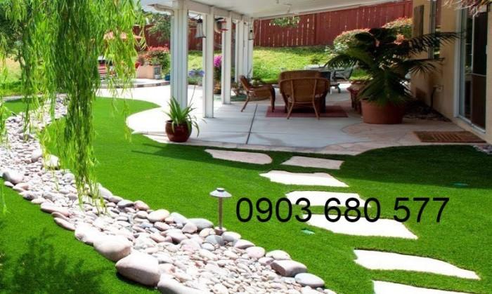 Nhận tư vấn, thiết kế, thi công cỏ nhân tạo trang trí giá rẻ, uy tín, chất lượng nhất5