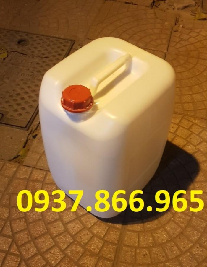 can nhựa 30L chuyên đựng chất lỏng, hóa chất3