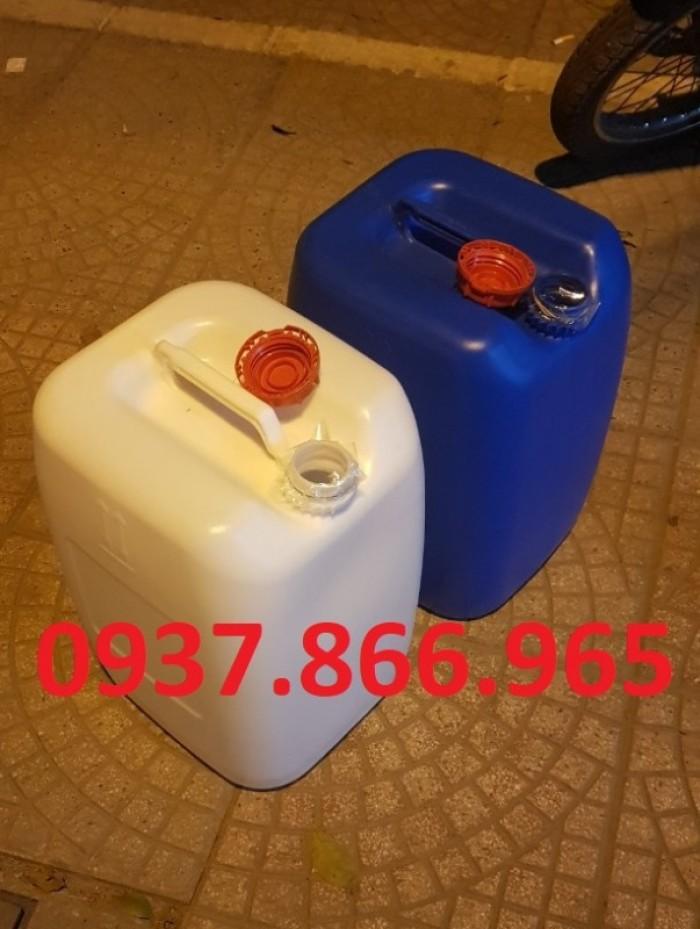can nhựa 30L chuyên đựng chất lỏng, hóa chất1