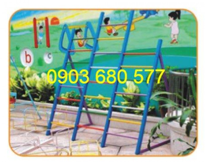 Cần bán trò chơi thang leo vận động dành cho bé mầm non2