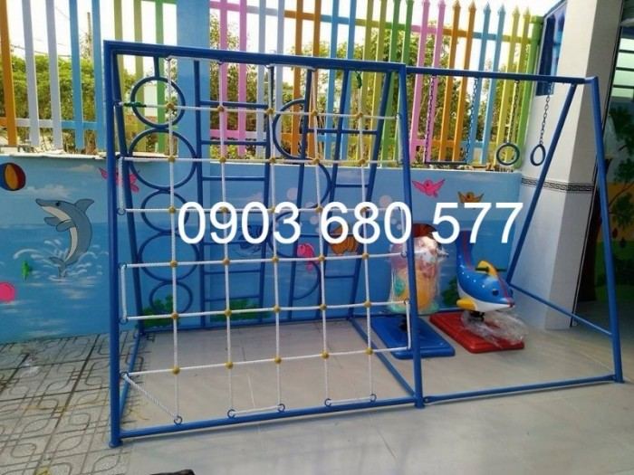 Cần bán trò chơi thang leo vận động dành cho bé mầm non10