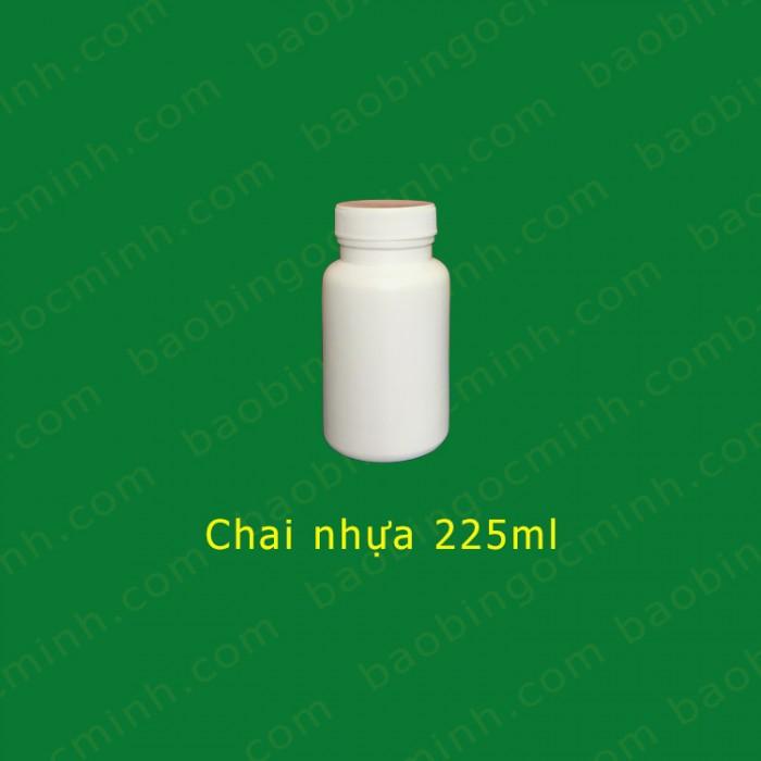 Chai nhựa 225ml 3