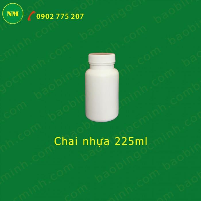 lọ nhựa đựng nông dược 225ml 8