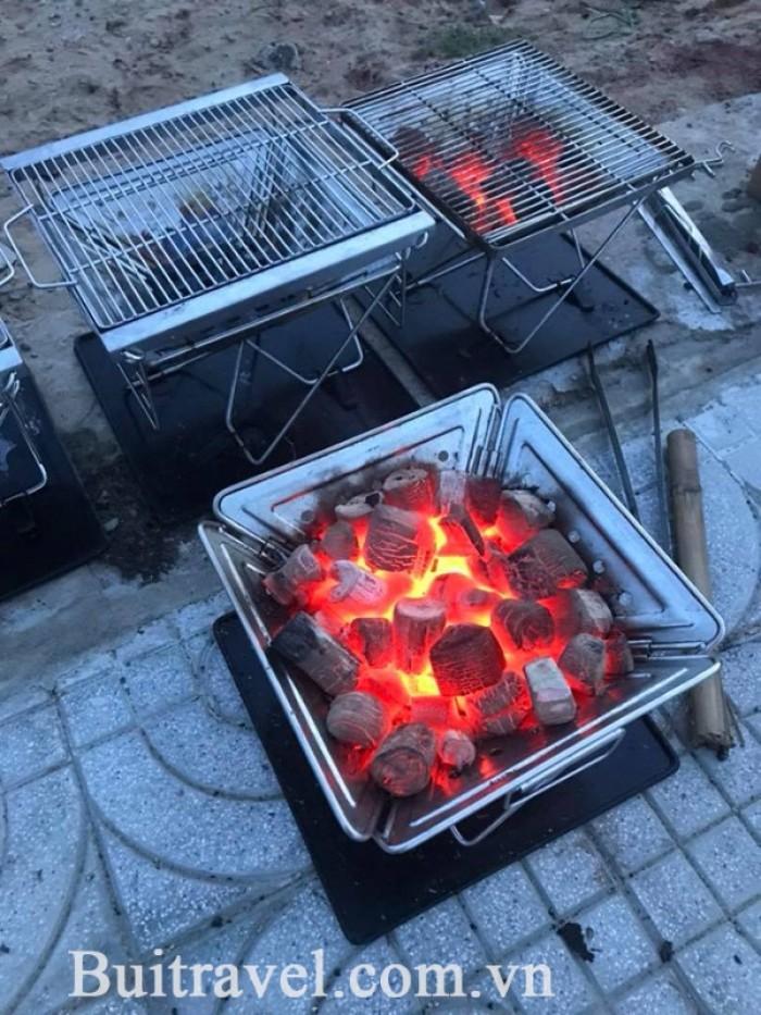 Bếp nướng nướng than hoa ngoài trời cao cấp MT-0451