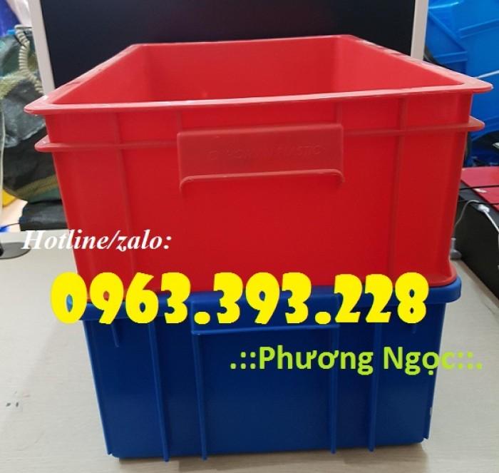 Thùng nhựa đặc B4, hộp nhựa chứa đồ, thùng nhựa đựng linh kiện0
