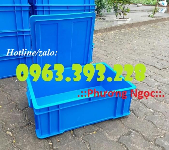 Thùng nhựa đặc B4, hộp nhựa chứa đồ, thùng nhựa đựng linh kiện2