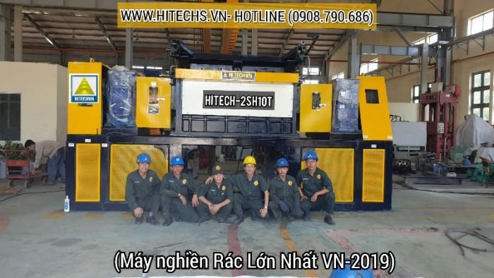 Máy xay vải vụn, băm cao su lớn nhất Việt nam 20191