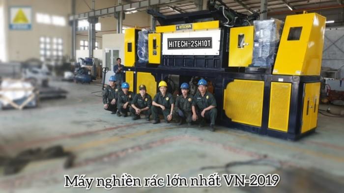 Máy cắt rác cao su, giầy da, nghiền vải, công suất 10-15 tấn/giờ3