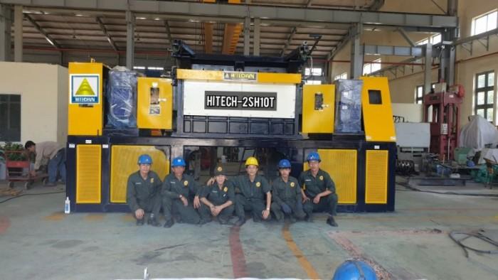 Máy nghiền rác lớn nhất VN 2019 trước xuất xưởng tại Hitechvn4