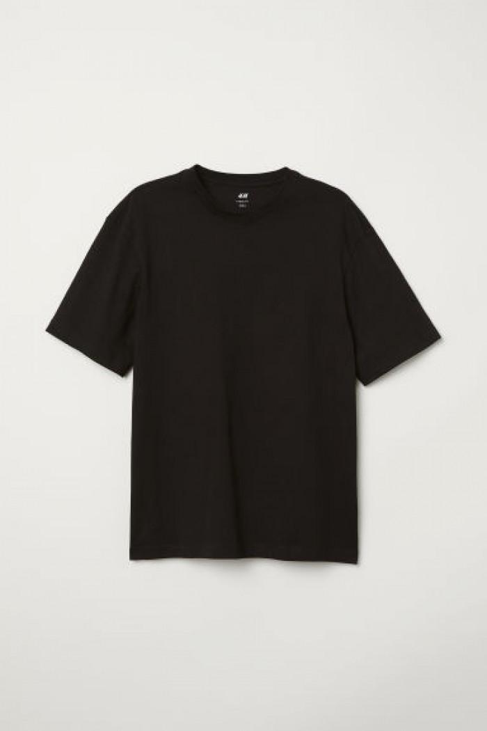 chuyên sỉ áo thun đen cổ tròn giá 20k - áo size người lớn2