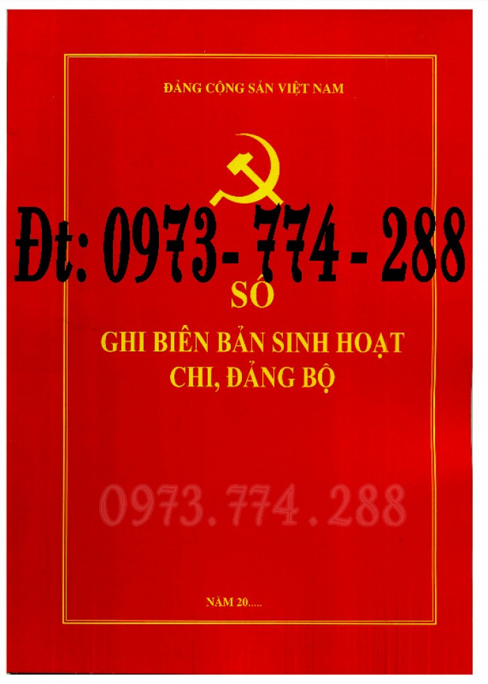 Sổ tay Đảng viên giá cả chất lượng tốt nhất tại Hà Nội4