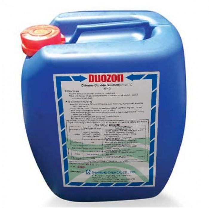 Xử lý nước - Clorine Dioxide dạng nước - Thủy Sản Tép Bạc0