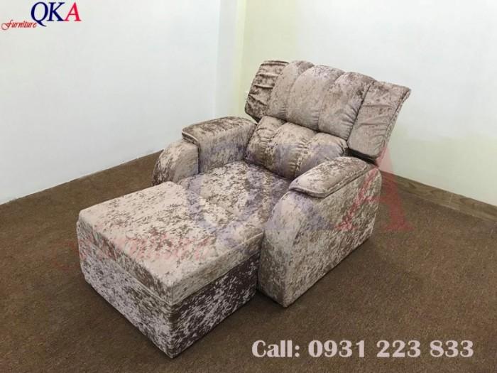 Mẫu ghế massage chân ( tựa bông ) với phần tựa ghế nhồi bông vô cùng êm ấi mang lại cảm giác vô cùng thư giãn.1