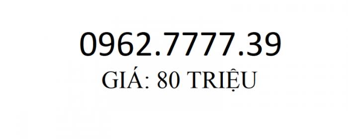 SIM 0962.7777.390