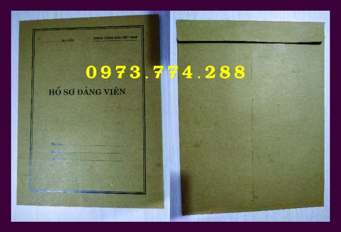 Lý lịch Đảng viên mẫu 1 - HSĐV - bìa trắng13