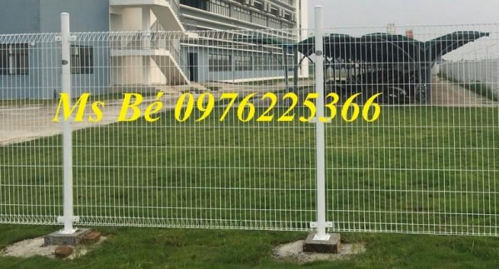 Hàng rào sơn tĩnh điện, lưới hàng rào mạ kẽm, khung hàng rào di động
