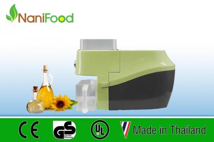 Máy ép dầu Nanifood Thái Lan NNF800A phiên bản xanh lá0