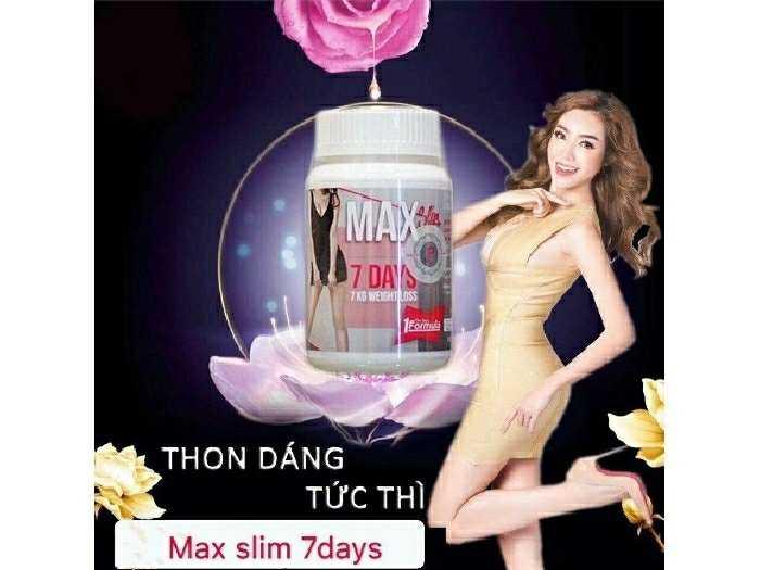 Viên uống giảm cân 7days Thái Lan0