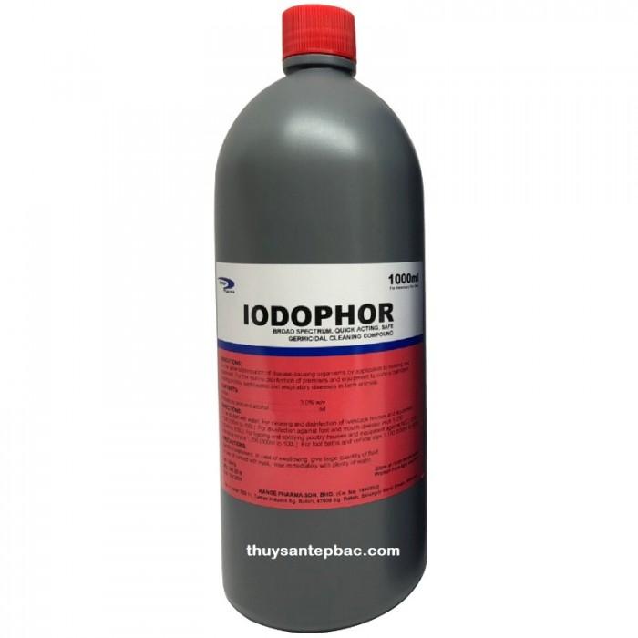 Diệt Khuẩn cho tôm - Iodophor - Thủy Sản Tép Bạc0