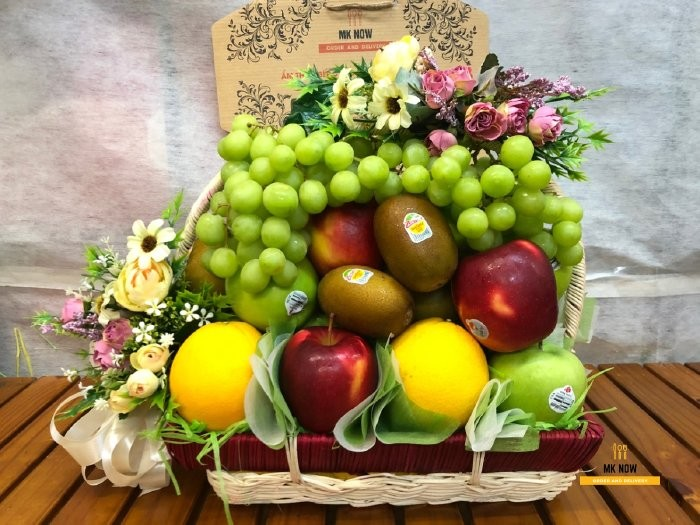 Giỏ quà Tết trái cây nhập khẩu - FSNK1180