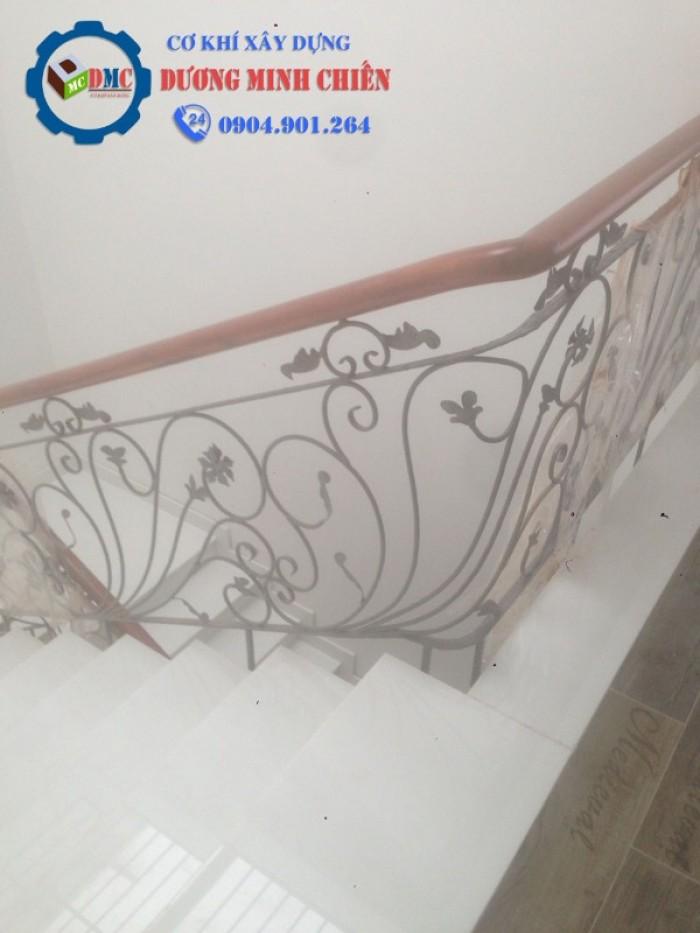cầu thang sắt mỹ thuật6