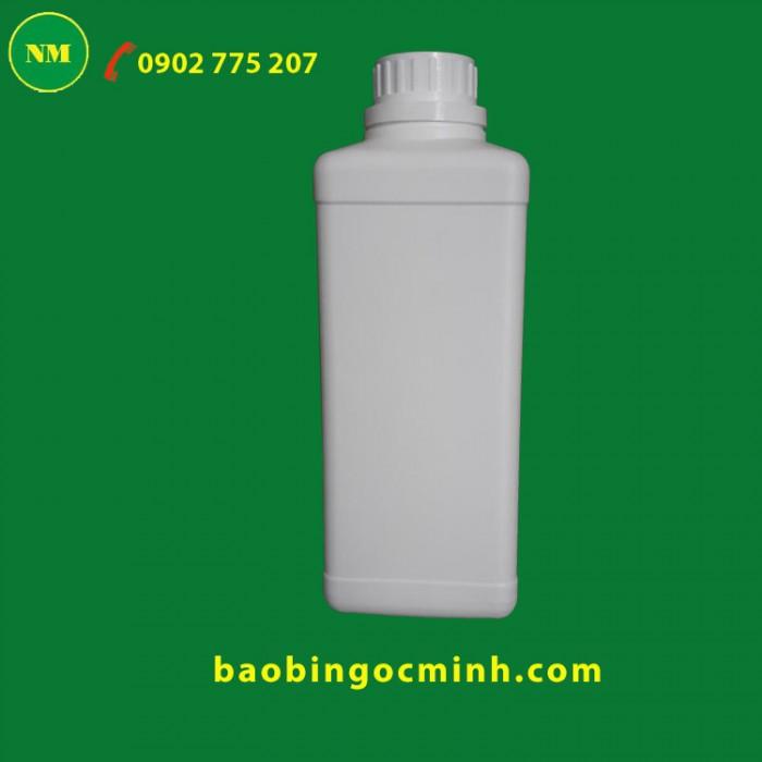 Chai nhựa vuông 1 lít - 1000ml 17