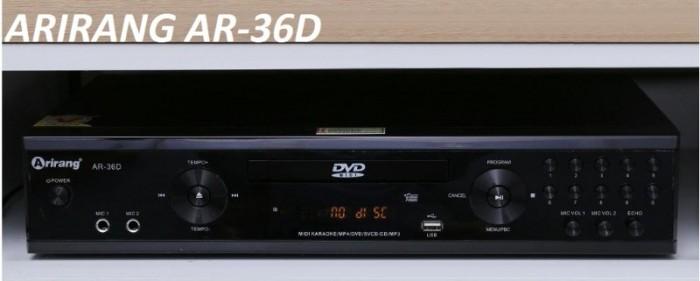 Đầu Arirang karaoke 5 số AR-36D Với độ giải mã âm thanh kỹ thuật số 5.1 cho âm thanh sống động và giọng hát hay hơn1