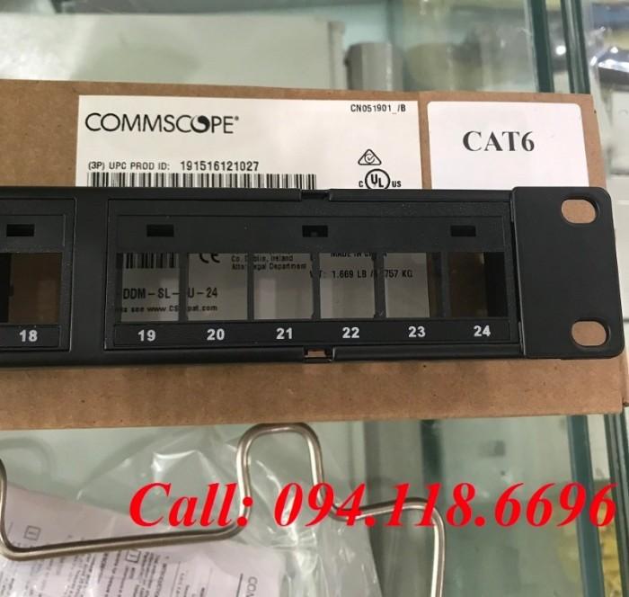 Patch Panel 24 Port CAT6 COMMSCOPE 8
