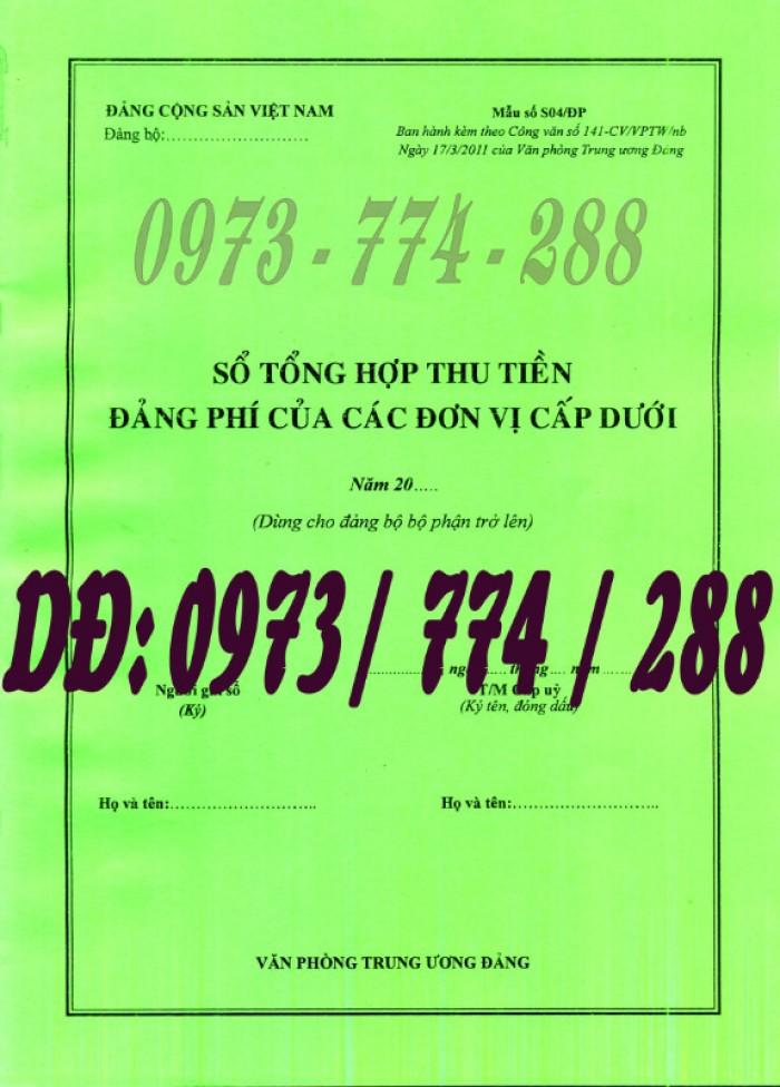 Mua sổ thu nộp Đảng phí (Mẫu số s01/ĐP)4