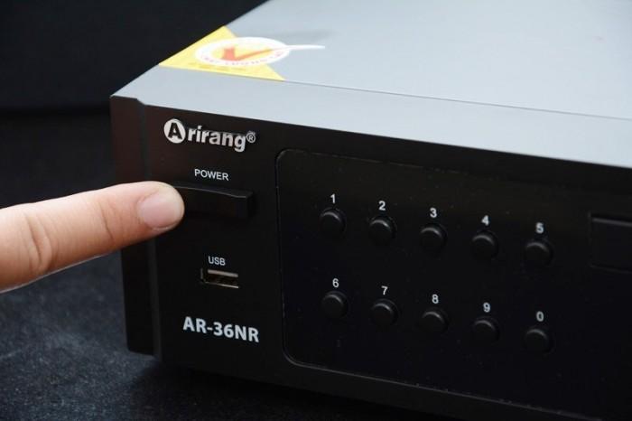Đầu Karaoke 5 số Arirang AR-36NR chính hãng  Maseco Arirang1