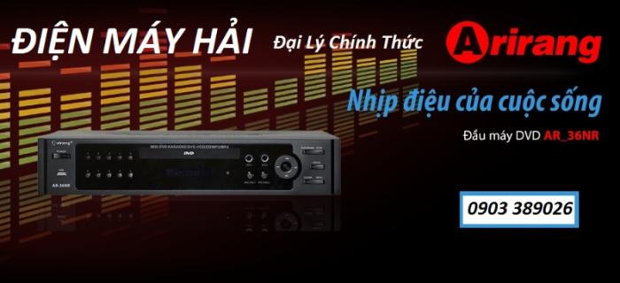 Đầu Karaoke 5 số Arirang AR-36NR Cho chất lượng âm thanh tuyệt hảo, thỏa sức với giọng hát ngọt ngào 3