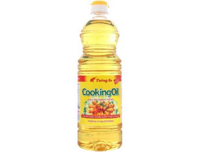 Dầu ăn thực vật Tường An cooking oil chai 1 lít0
