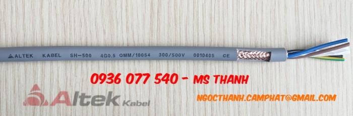 Cáp điều khiển Altek Kabel SH-500 4G 0.5 SQmm0