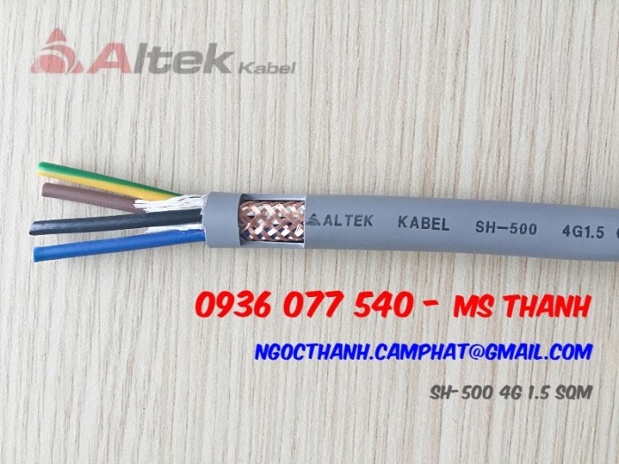 Cáp điều khiển Altek Kabel SH-500 4G 0.5 SQmm2